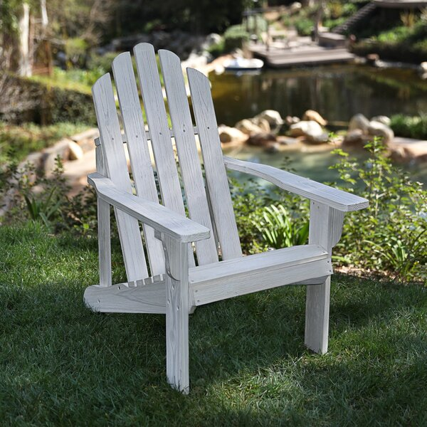 Wood Adirondack Chair by Highland Dunes Highland Dunes