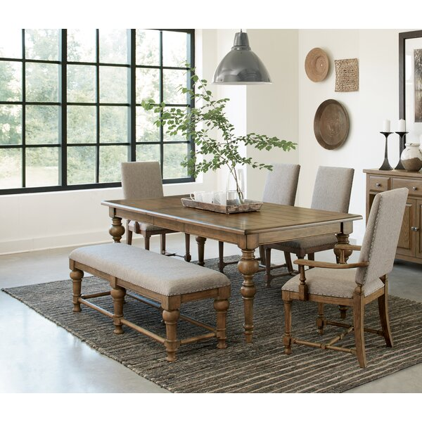Shandi 6 Piece Extendable Dining Set by Bungalow Rose Bungalow Rose