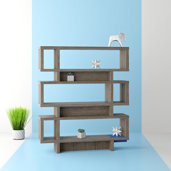 Dunning Geometric Bookcase By Hashtag Home