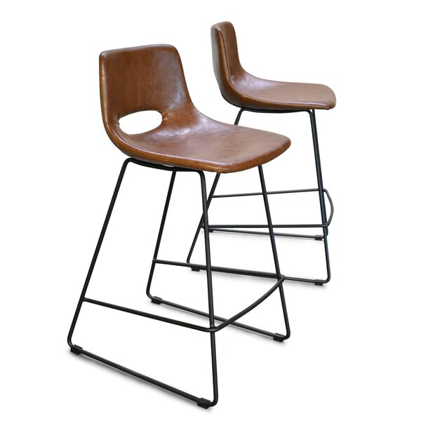 25 Bar Stool (Set of 2) by 17 Stories