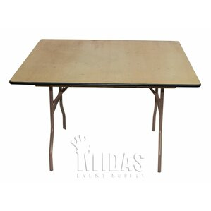 elite square folding table
