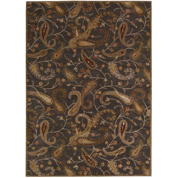 Broomhedge Charcoal Area Rug by Darby Home Co