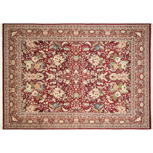 Pak-Persian Rovena Hand Knotted Wool Red Area Rug by Noori Rug