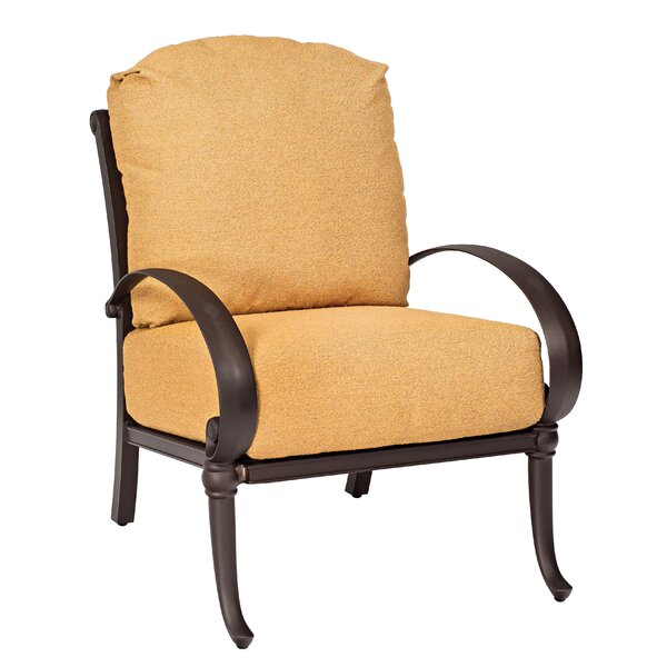 Holland Patio Chair with Cushions by Woodard