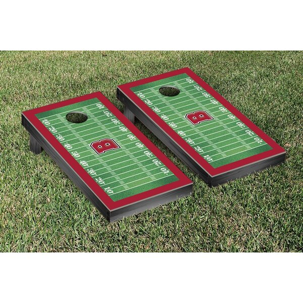 NCAA Football Version Cornhole Game Set by Victory Tailgate