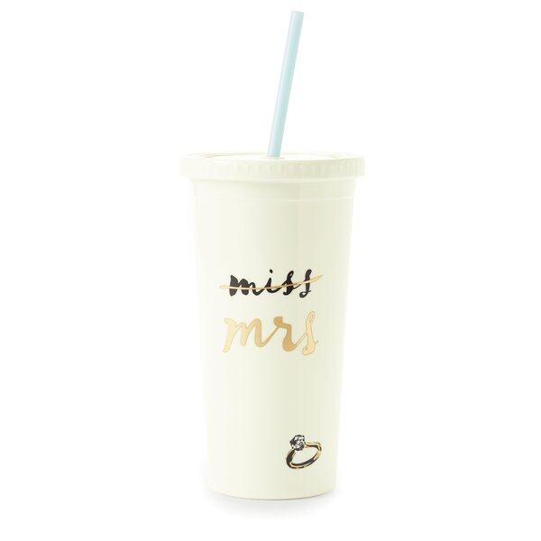 20 oz. Plastic Travel Tumbler by kate spade new york