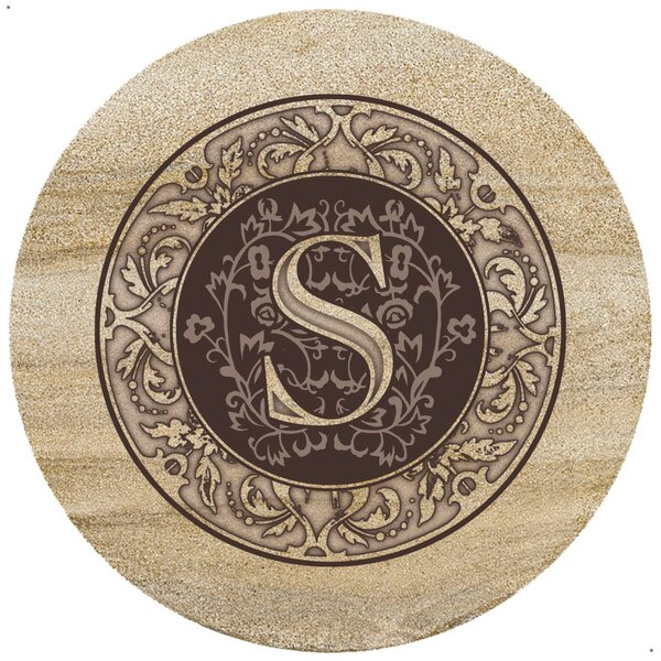 Monogrammed Trivet by Thirstystone