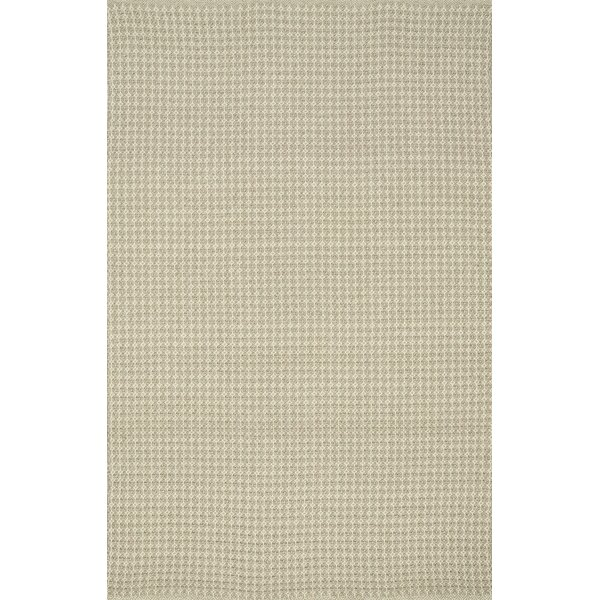 Kirchoff Hand-Woven Oatmeal Indoor/Outdoor Area Rug by Charlton Home