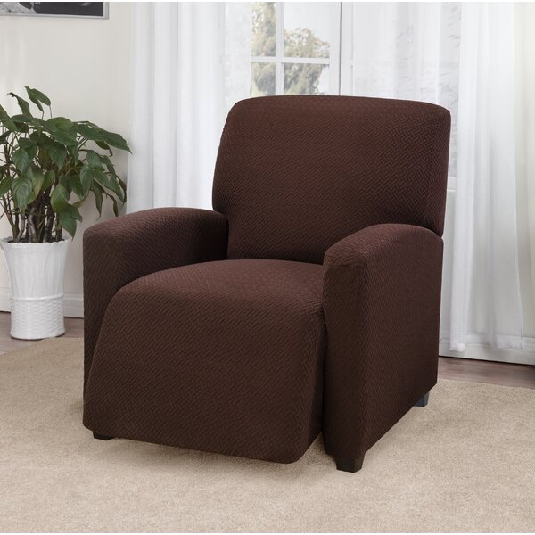 Box Cushion Recliner Slipcover by Ebern Designs