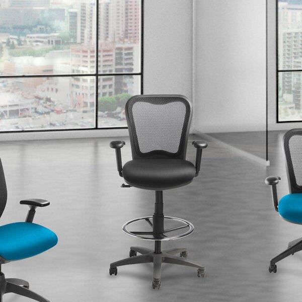 High Back Mesh Drafting Chair by Lorell
