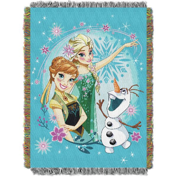 Frozen - Frozen Fever Tapestry Throw by Northwest Co.