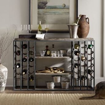 Studio 7H 36 Bottle Floor Wine Cabinet by Hooker Furniture