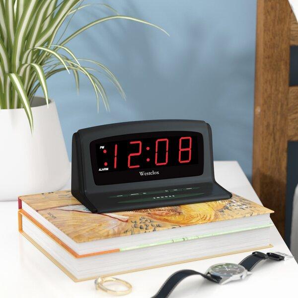 Instant Set LED Alarm Tabletop Clock by Latitude Run