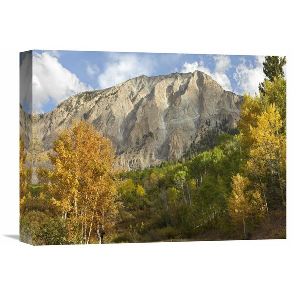 Nature Photographs Marcellina Mountain Near Crested Butte, Colorado by Tim Fitzharris Photographic Print on Wrapped Canvas by Global Gallery