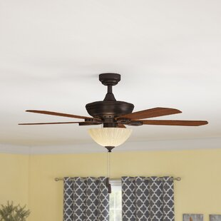 52 Tomczyk 5 Blade LED Ceiling Fan By Winston Porter