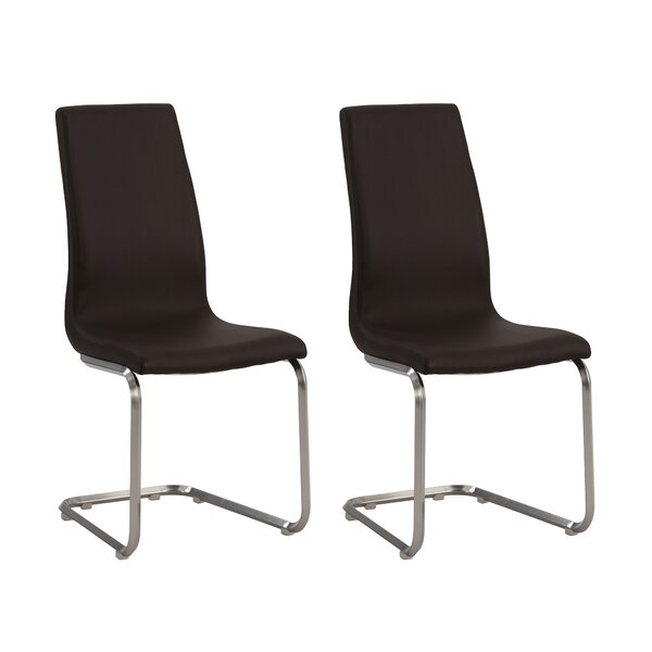 Zoey Side Chair (Set of 2) by Chintaly Imports