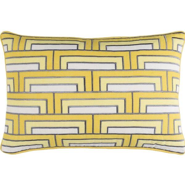 Balard Linen Lumbar Pillow by Orren Ellis