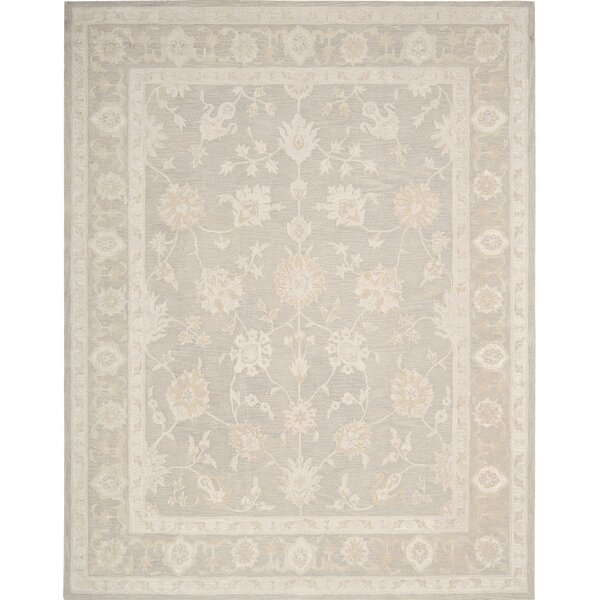 Ridgeville Hand-Tufted Beige Area Rug by Darby Home Co