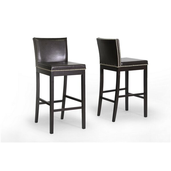 Baxton Studio 30.75 Bar Stool (Set of 2) by Wholesale Interiors