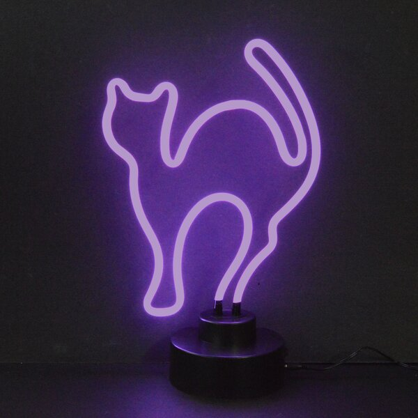 Business Signs Cat Neon Sign by Neonetics