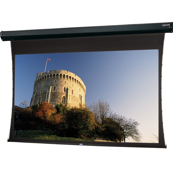 Tensioned Cosmopolitan Electrol Electric Projection Screen by Da-Lite