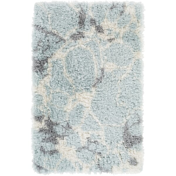 Keith Blue/White Area Rug by Williston Forge