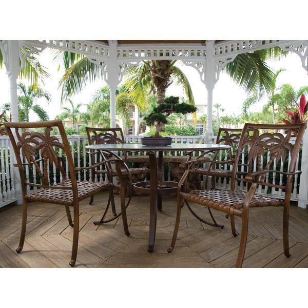 Saskia 5 Piece Dining Set by Beachcrest Home