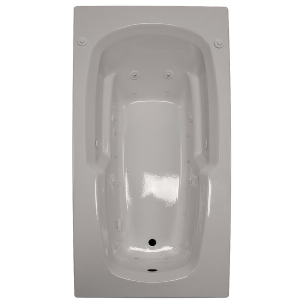 72 x 36 Armrest Salon Spa Air/Whirlpool Tub by American Acrylic