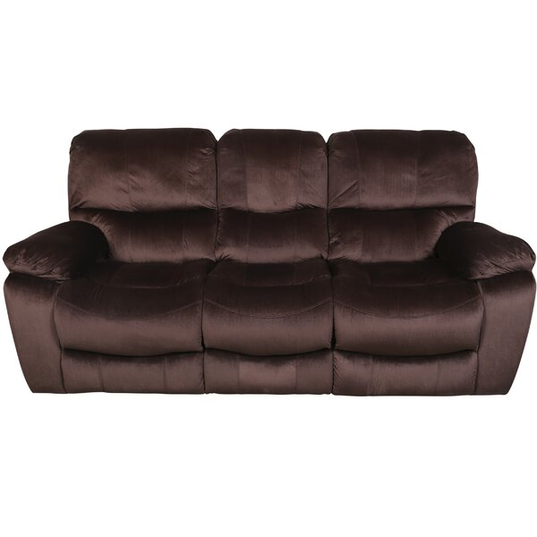 Fresh Look Rashida Modern Reclining Sofa by Red Barrel Studio by Red Barrel Studio