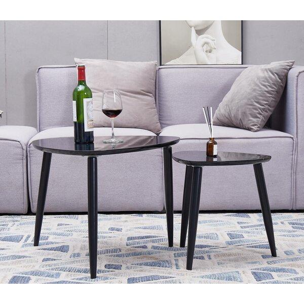 Gilson 3 Legs 2 Nesting Coffee Table by Corrigan Studio Corrigan Studio