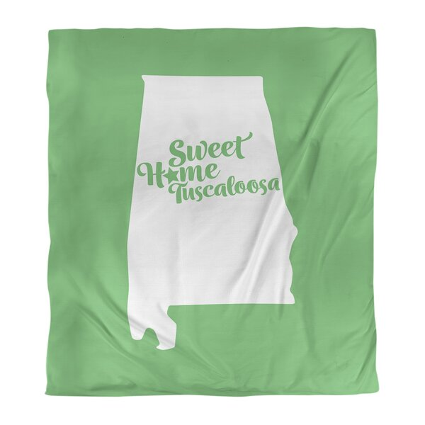 Tuscaloosa Alabama Duvet Cover