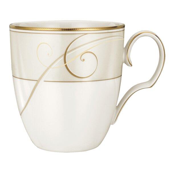 Golden Wave Mug (Set of 4) by Noritake