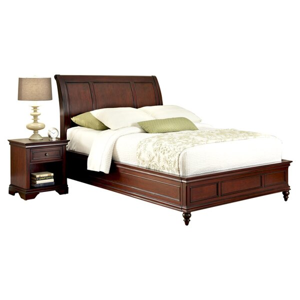 Curran Panel 2 Piece Bedroom Set by Three Posts