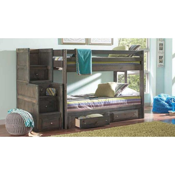Setser Twin Over Twin 2 Piece Bedroom Set by Harriet Bee