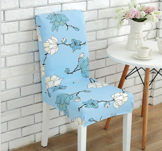Elegant Box Cushion Dining Chair Slipcover By Winston Porter