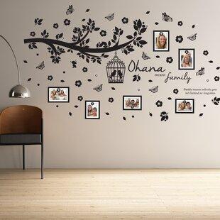 Ohana Family Tree Wall Decal
