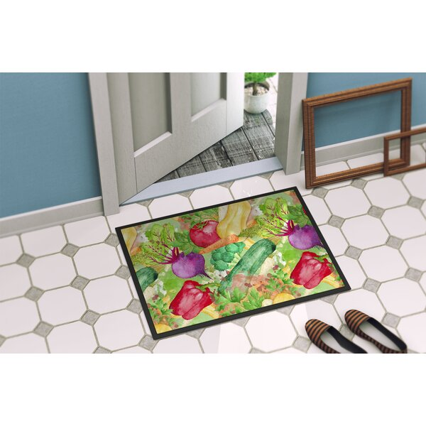 Vegetables Farm to Table Doormat by East Urban Home