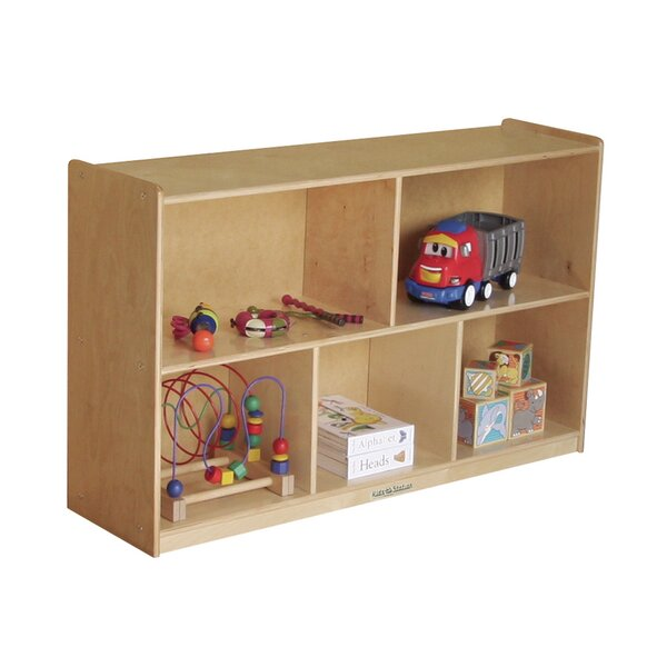 Preschool 5 Compartment Shelving Unit by Kids' Station
