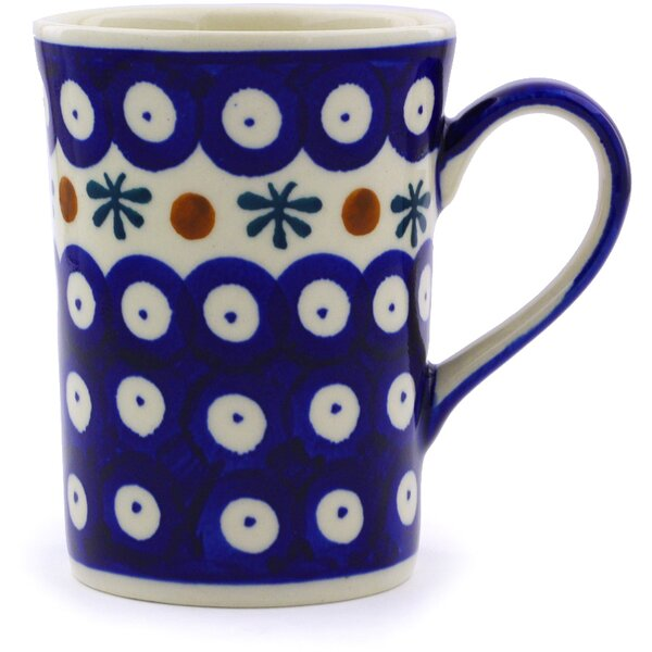 8 oz Polish Pottery Coffee Mug by Polmedia