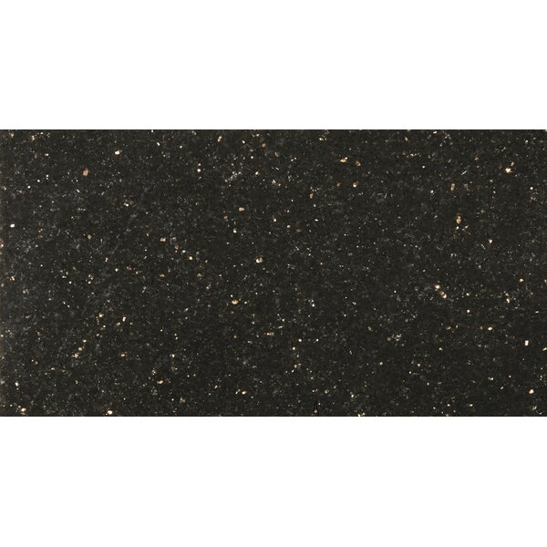 "Galaxy Black 12"" x 24"" Granite Tile by Emser Tile"