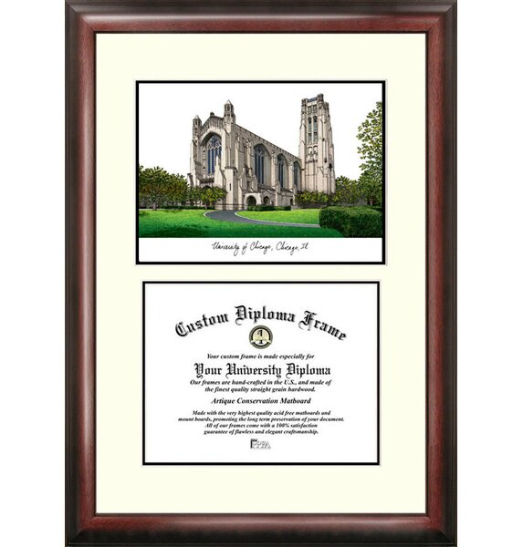 NCAA Chicago University Scholar Diploma Picture Frame by Campus Images