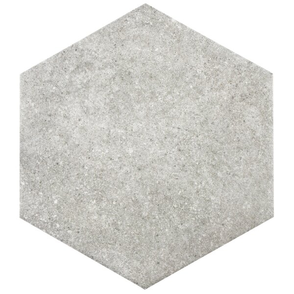 Transit 9.88 x 8.63 Porcelain Floor and Wall Tile in Gray by EliteTile