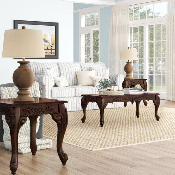 Oswego Wood 3 Piece Coffee Table Set by Astoria Grand Astoria Grand