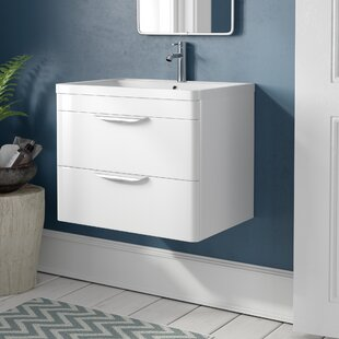 save premier parade 600mm wall mount vanity unit - Bathroom Vanity Units