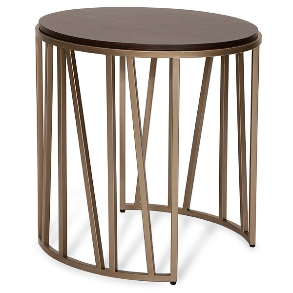 Getty End Table By Everly Quinn