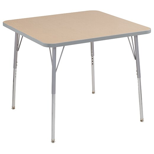 Cog Thermo-Fused Adjustable 48 Square Activity Table by ECR4kids