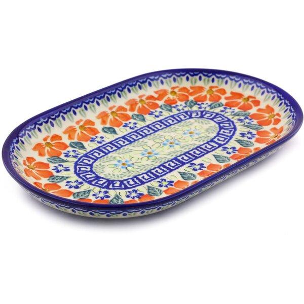 Grecian Fields Platter by Polmedia