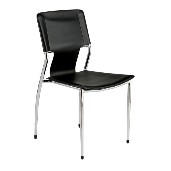 Hadassah Armless Stacking Chair (Set of 2) by Wade Logan