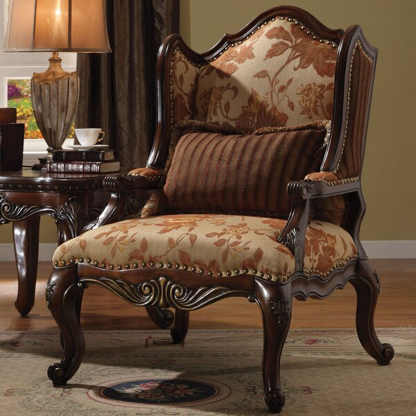 Bonded Wingback Chair by A&J Homes Studio