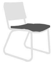 Corail Indoor/Outdoor Sunbrella Dining Chair Cushion by OASIQ